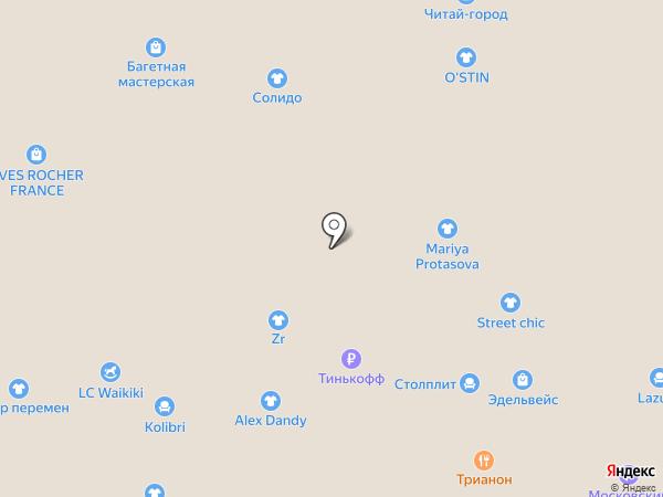 Дулевский фарфор на карте Балашихи