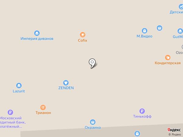 Шалуны на карте Балашихи