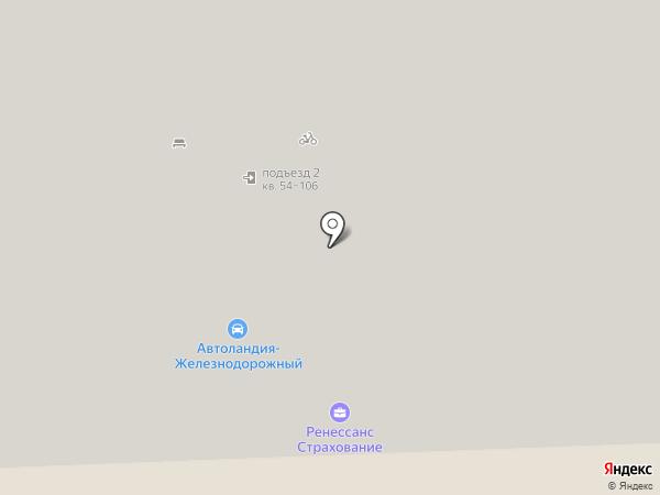 Аттика-недвижимость на карте Железнодорожного
