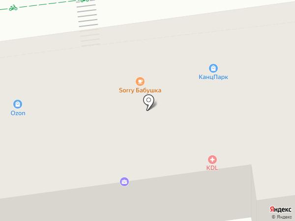 Доктор-Вет на карте Железнодорожного