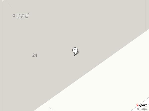 Росток на карте Железнодорожного