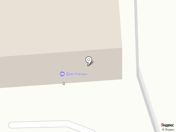 Дом Учёных на карте Балашихи