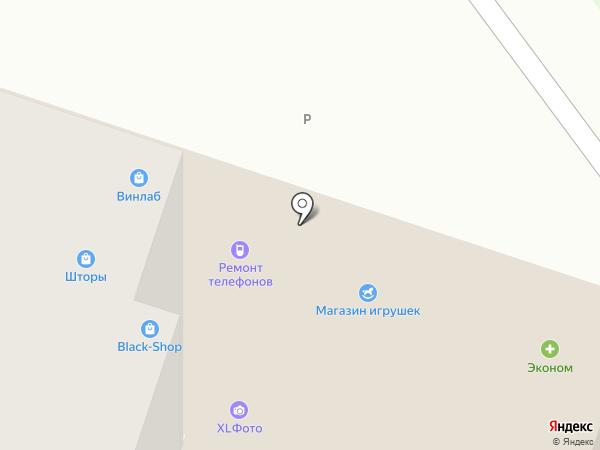 XL фото на карте Балашихи