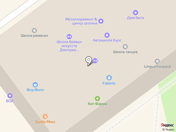 Zдоба микс на карте Балашихи