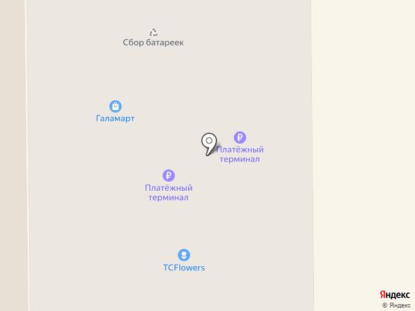 Gregory на карте Железнодорожного