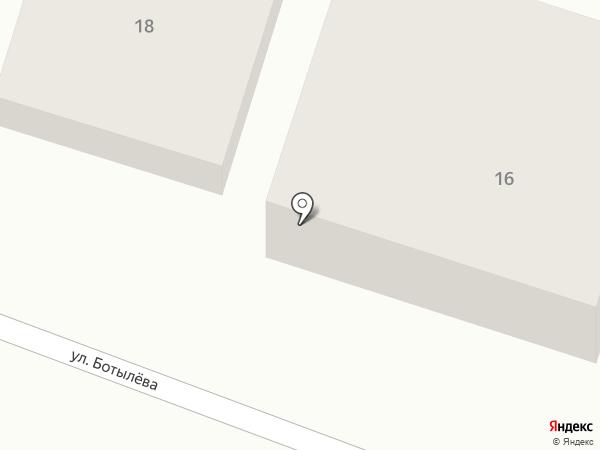 Гостевой дом на карте Геленджика