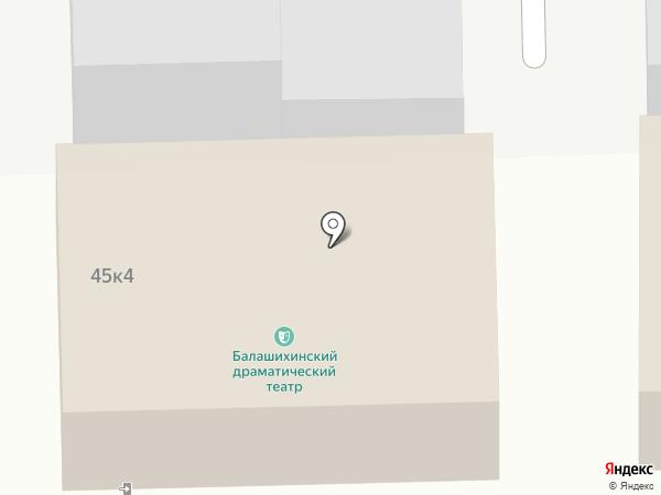 Orient на карте Железнодорожного