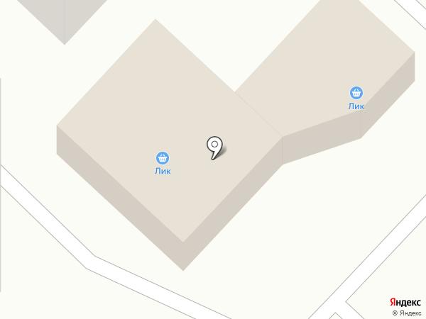 Лик на карте Макеевки