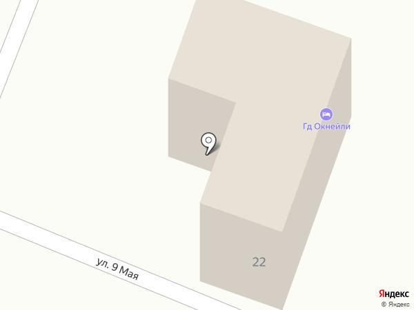 Okneili на карте Геленджика