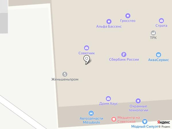 Максстрой на карте Балашихи