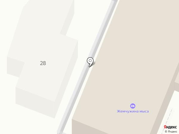 Жемчужина мыса на карте Геленджика