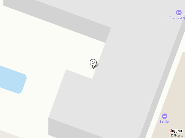 Столовая №11 на карте Геленджика