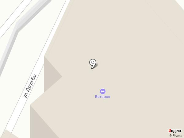 Ветерок на карте Геленджика