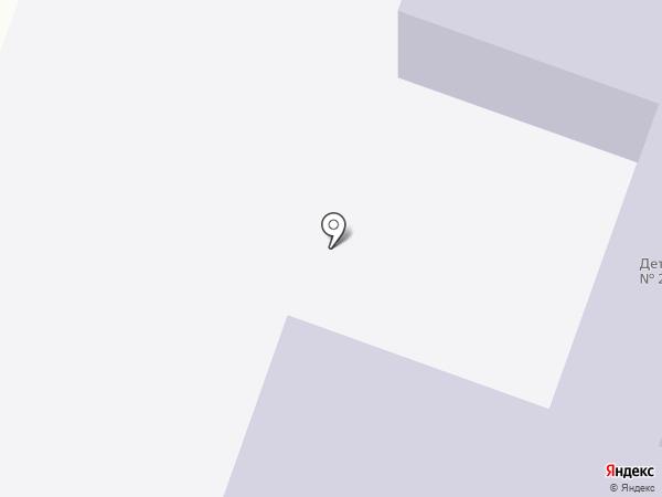 Берёзка на карте Нового Света