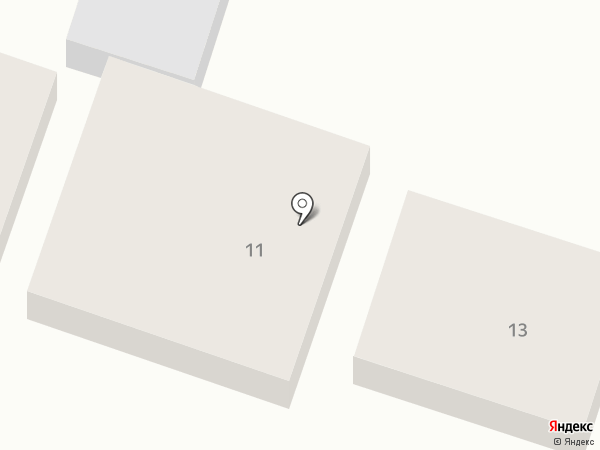 Кредо на карте Геленджика