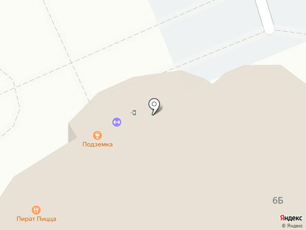 Подземка на карте Балашихи