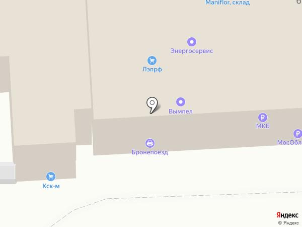 КСК-М на карте Балашихи