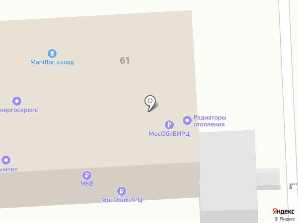 Лэпрф на карте Балашихи