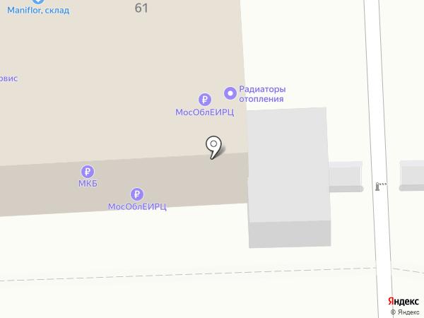 Авто Район на карте Балашихи
