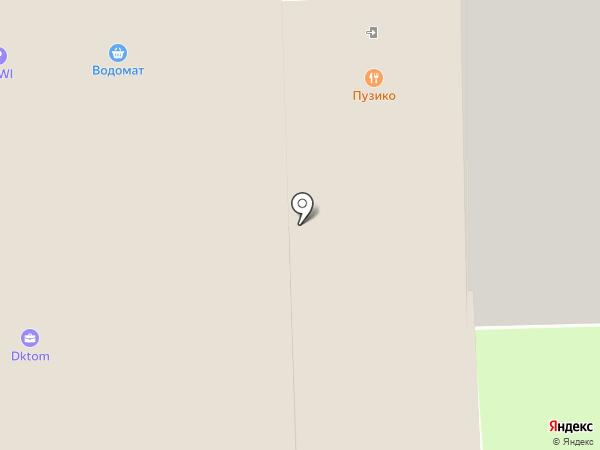 Лекапласт на карте Балашихи