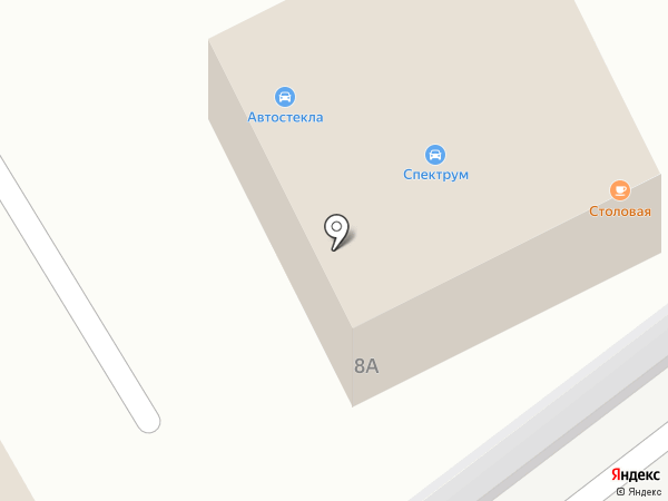 Компания по производству автостекла на карте Балашихи