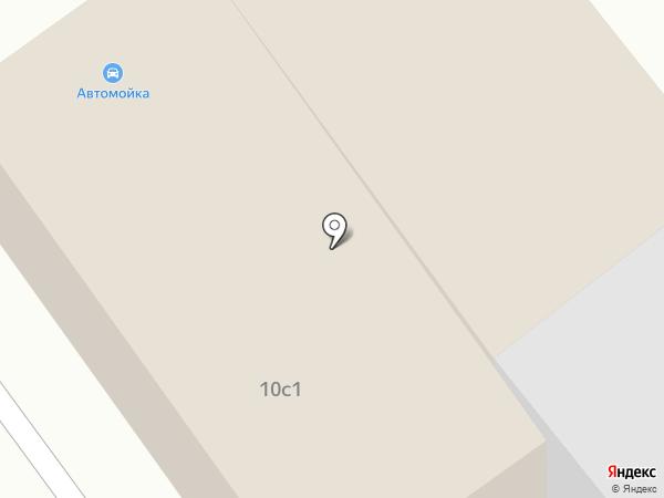 Автомойка на карте Железнодорожного