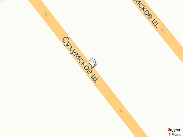 Автомастер на карте Геленджика