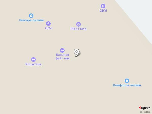 Саввино на карте Железнодорожного