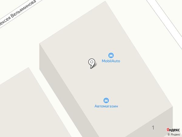 Mobil на карте Геленджика