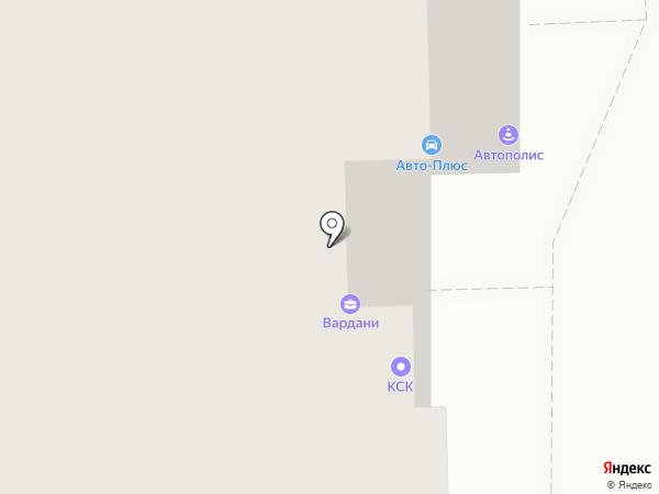 КСК на карте Балашихи