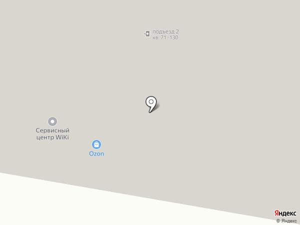 Электрон на карте Геленджика