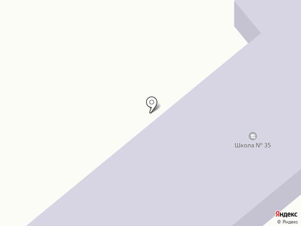 Макеевская школа №35 на карте Криничной