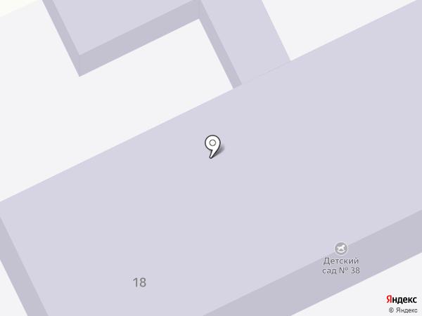 Детский сад №38 на карте Макеевки
