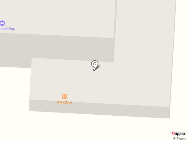 Ателика Сосновый Бор на карте Сабурово