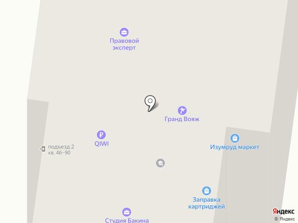 Исток-принт на карте Фрязино