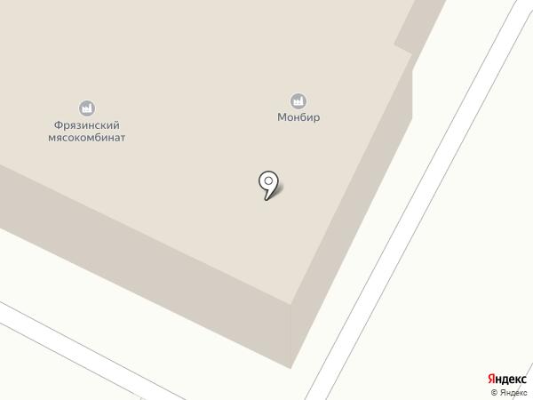 Компания Стильные Окна на карте Фрязино