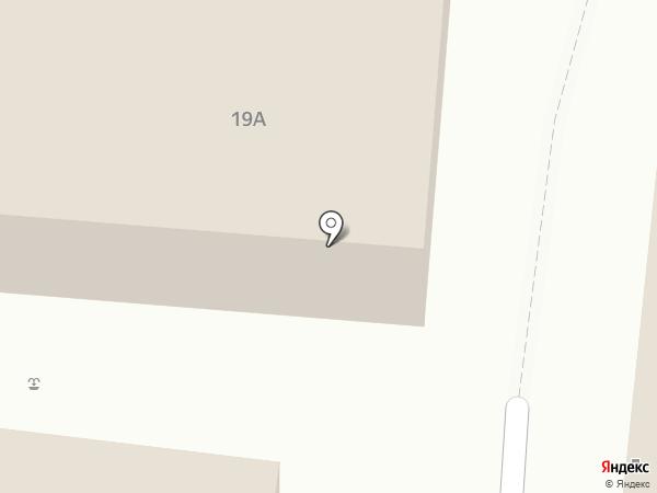 Акваматиба на карте Удельной