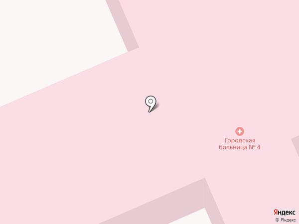 Городская больница №4 на карте Макеевки