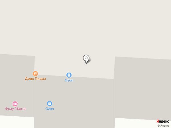 Магазин хозяйственных товаров на карте Фрязино