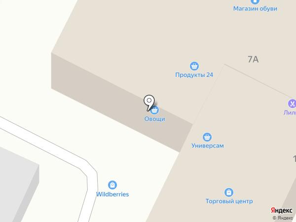 Настенька на карте Удельной