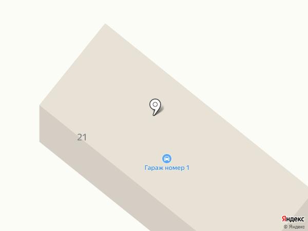 Щелковское лесничество на карте Фрязино