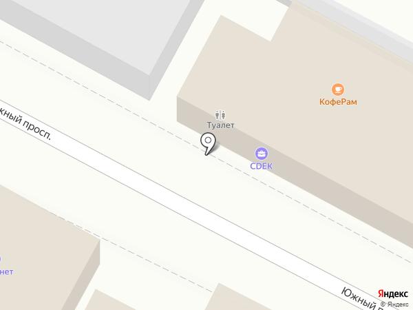 Платный общественный туалет на карте Удельной