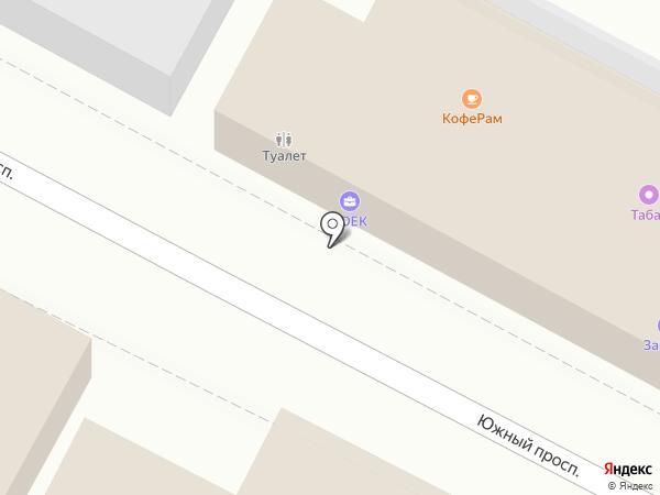 Рыбный магазин на карте Удельной