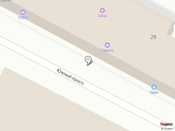 Магазин посуды и хозяйственных товаров на карте Удельной