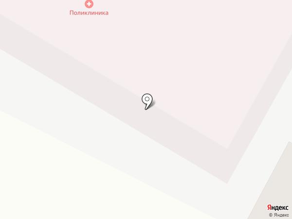 Удельнинская поликлиника на карте Удельной