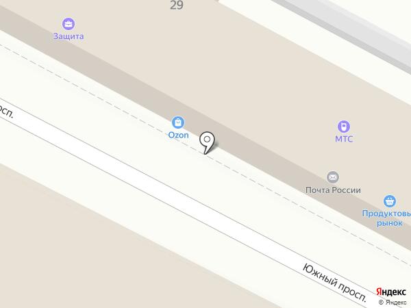 МегаФон на карте Удельной