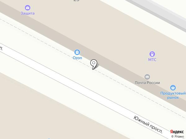 Платежный терминал на карте Удельной