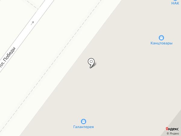 Магазин тканей на карте Фрязино