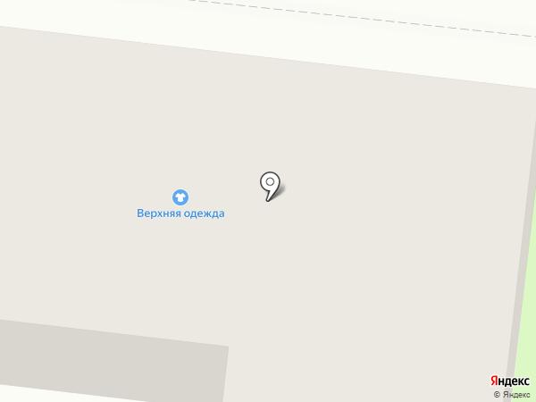 Магазин одежды на карте Фрязино