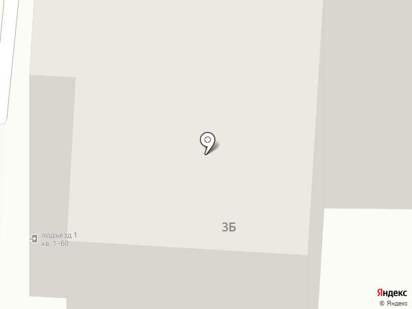 Силуэт на карте Фрязино